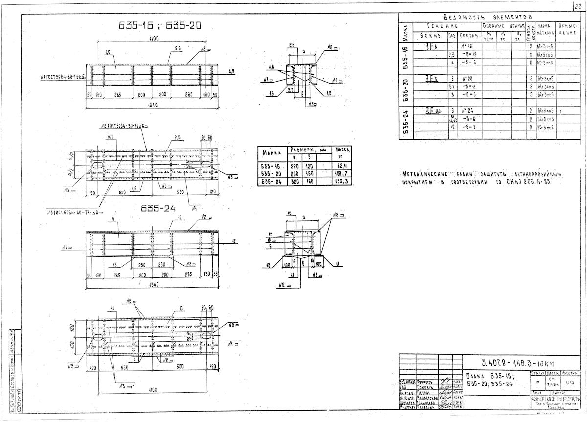 Б35-20 (3.407.9-146.3-16КМ)