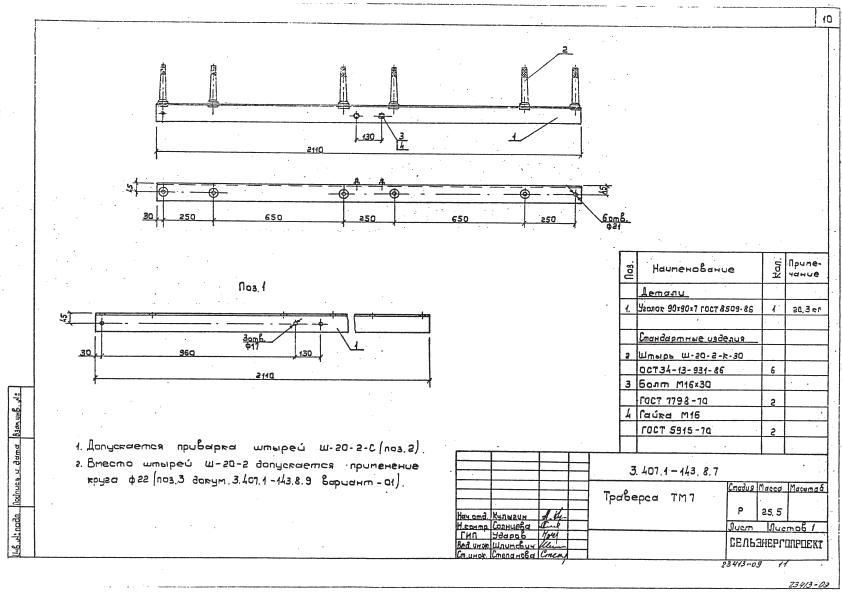 Траверса ТМ7-1777 руб.
