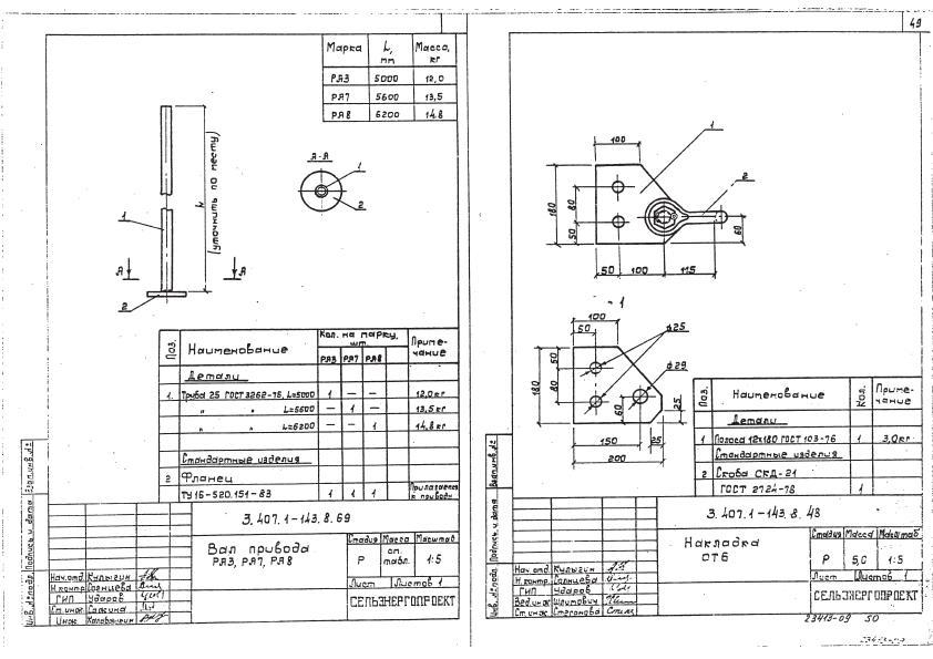 Вал привода РА3- 907,2 руб.