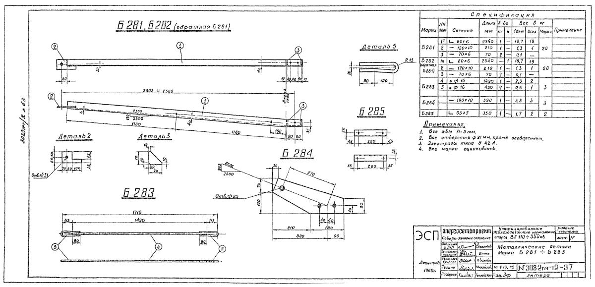 Б281-285 (3082тм-т2-37)
